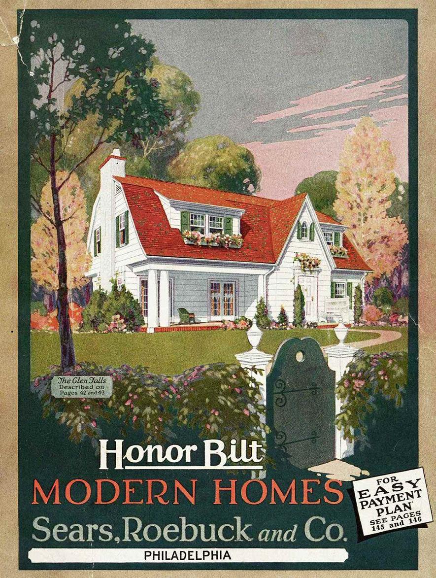 Catalog for Sears Glen Falls Home.