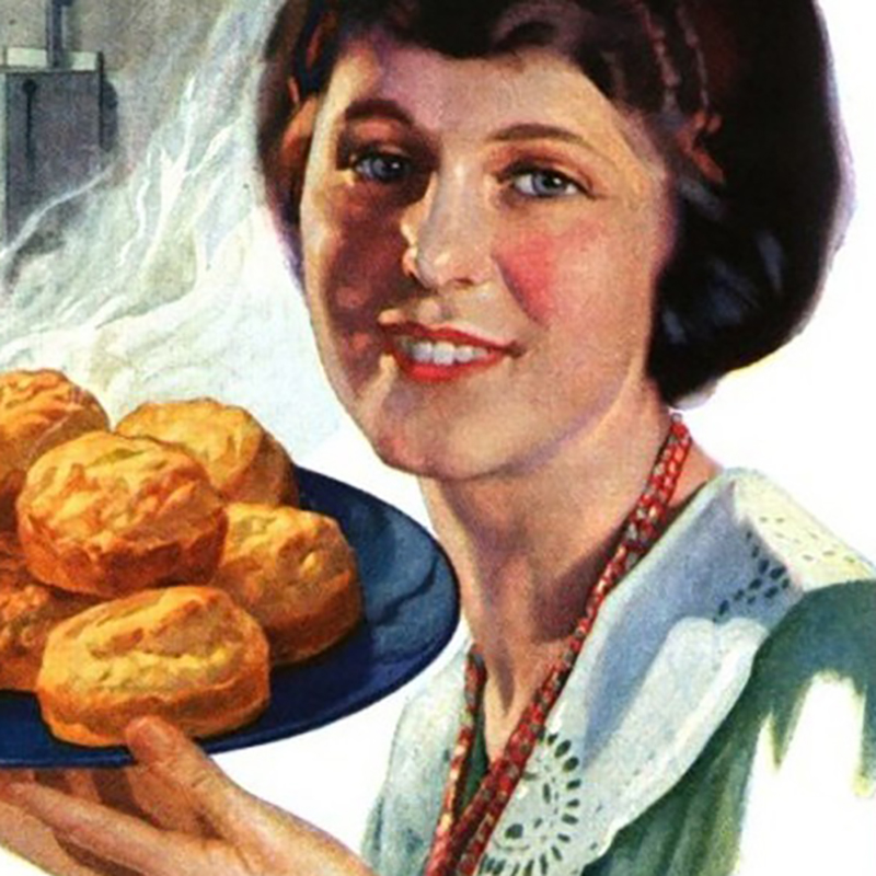1921 Betty Crocker.