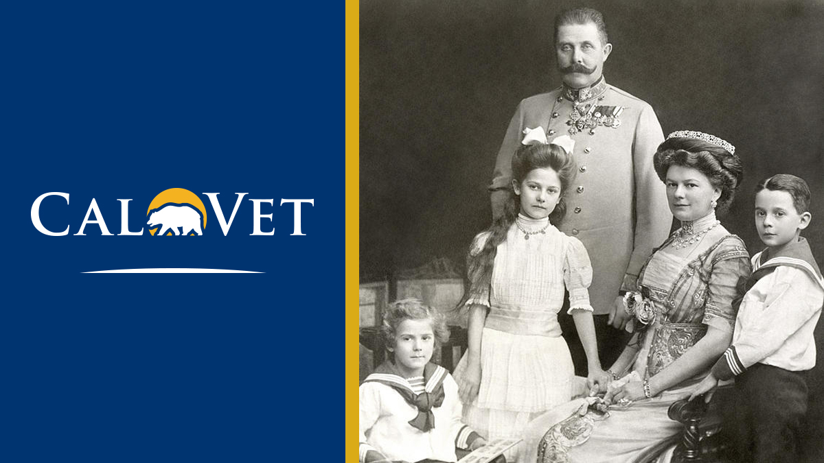 A family photo of the Archduke of Austria.