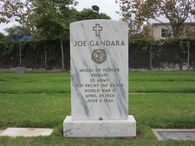 Woodlawn Cemetery Headstone for Joe Gandara