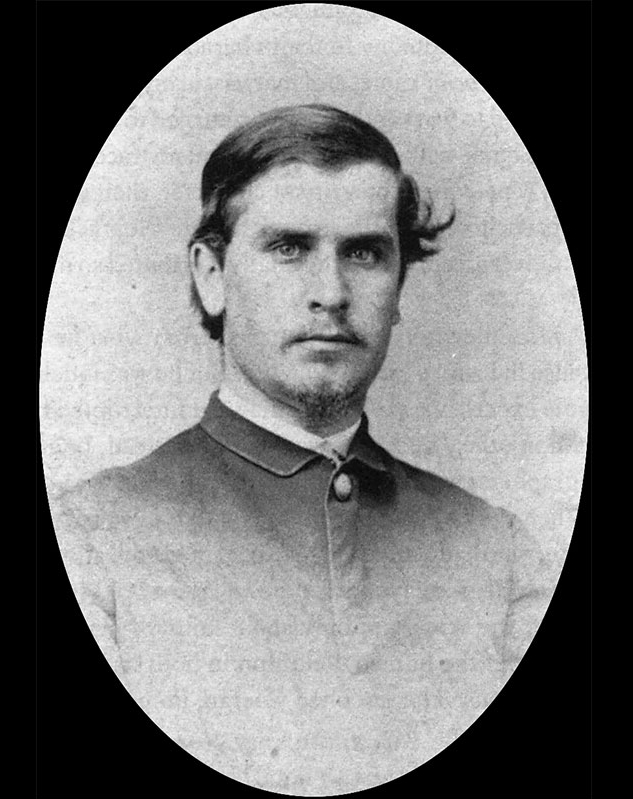William McKinley as a young man at 19 years old.