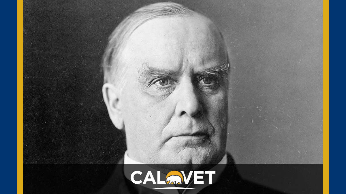 William McKinley was the 25th U.S. President