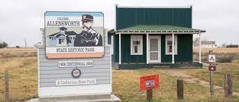 Photo of Colonel Allen Allensworth State Historic Park.