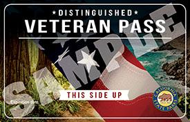 Sample of Distinguished Veteran Pass